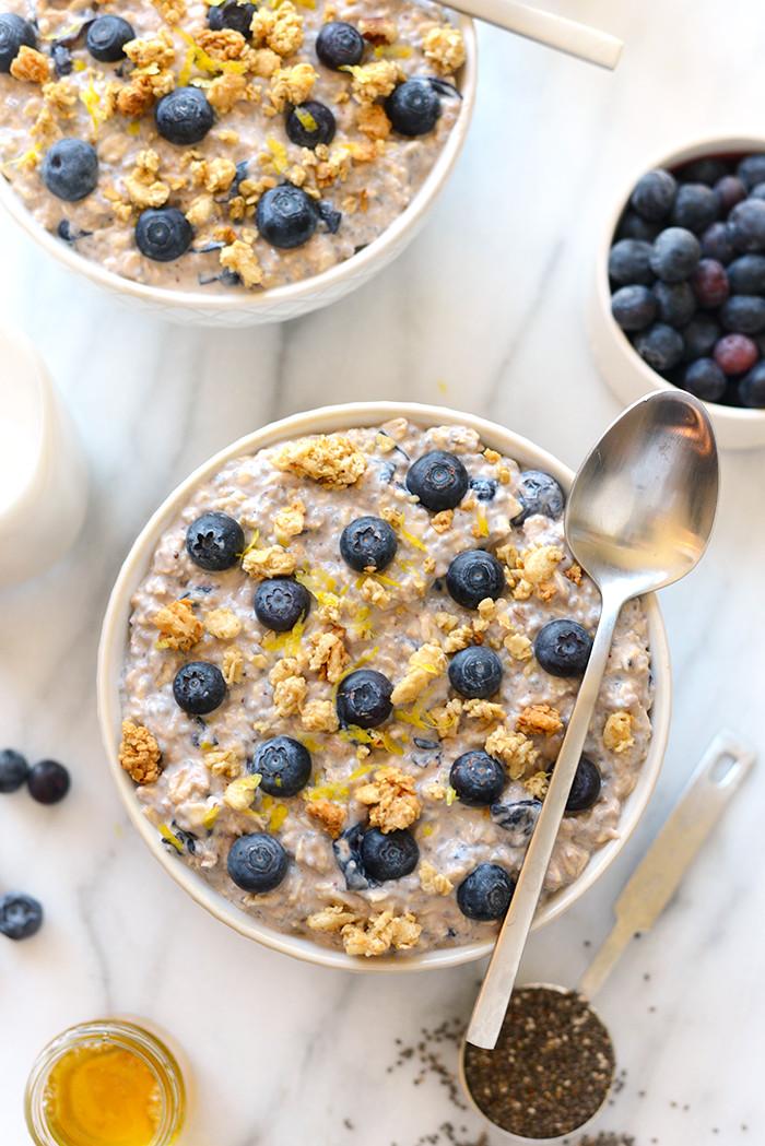 Oatmeal Recipe For Breakfast  Overnight Oat Recipes 6 Ways Fit Foo Finds