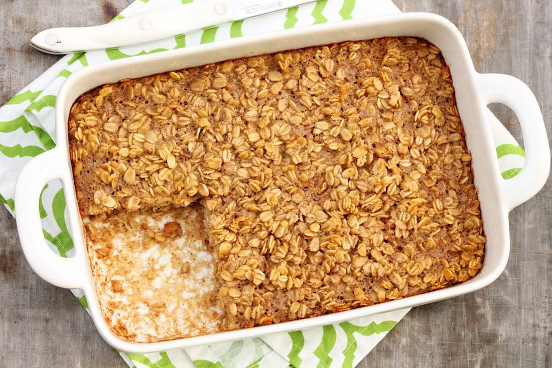 Oatmeal Recipe For Breakfast  Amish Baked Oatmeal – The Fountain Avenue Kitchen