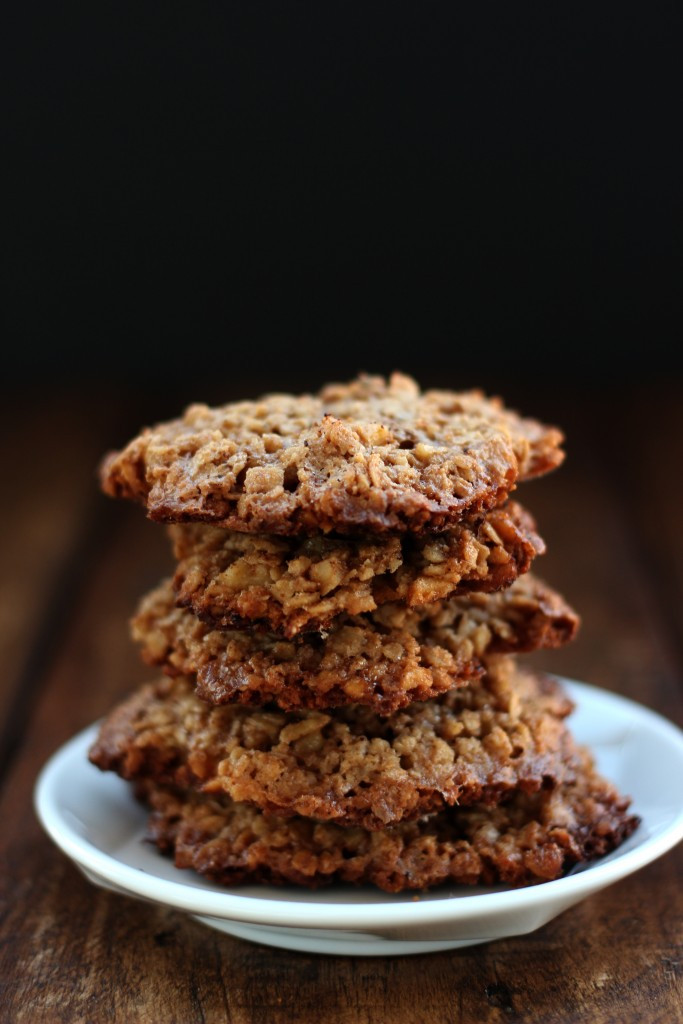 Oatmeal Walnut Cookies  Gluten free Oatmeal Walnut Cookies Dish by Dish