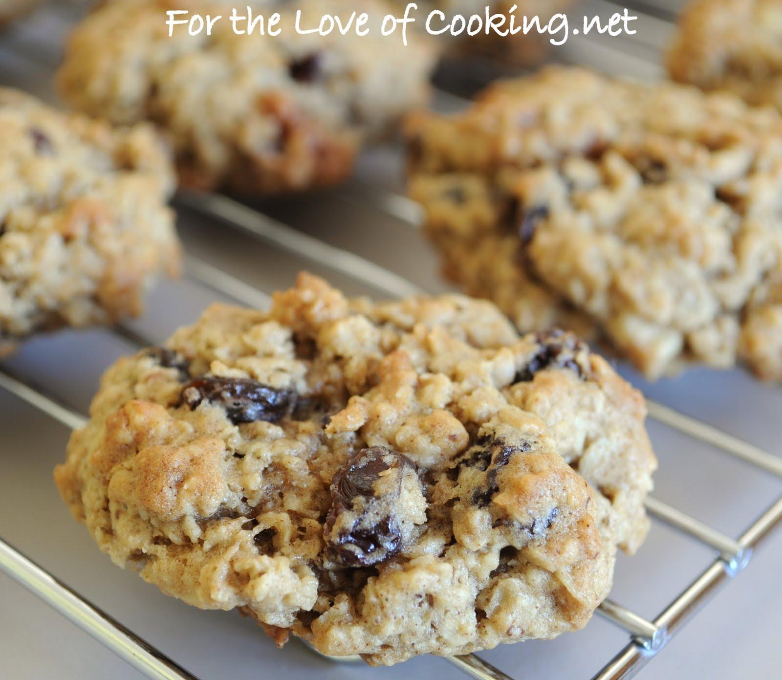 Oatmeal Walnut Cookies  Cinnamon Oatmeal Raisin and Walnut Cookies