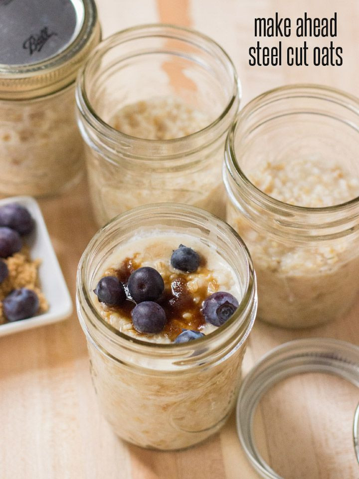Oats For Breakfast  Make Ahead Steel Cut Oats for Breakfast All Week