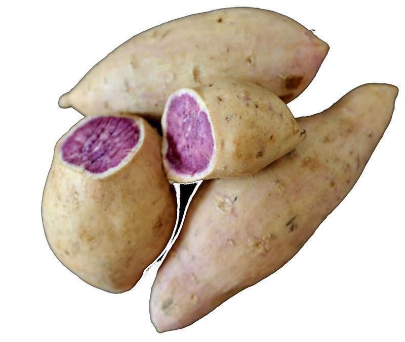 Okinawan Sweet Potato  HAWAIIAN OKINAWAN SWEET POTATO PURPLE YAM 5 LBS