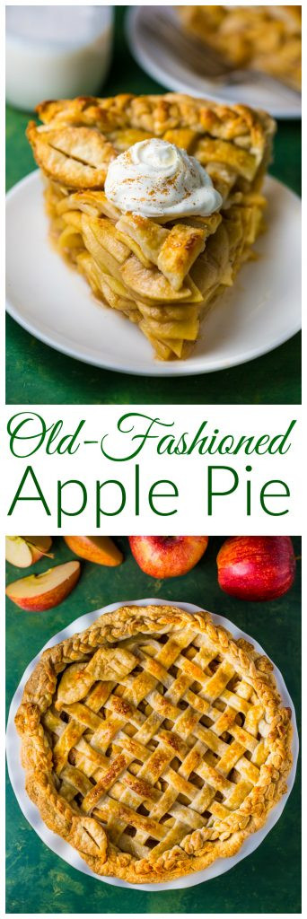 Old Fashioned Apple Pie  Old Fashioned Apple Pie Baker by Nature