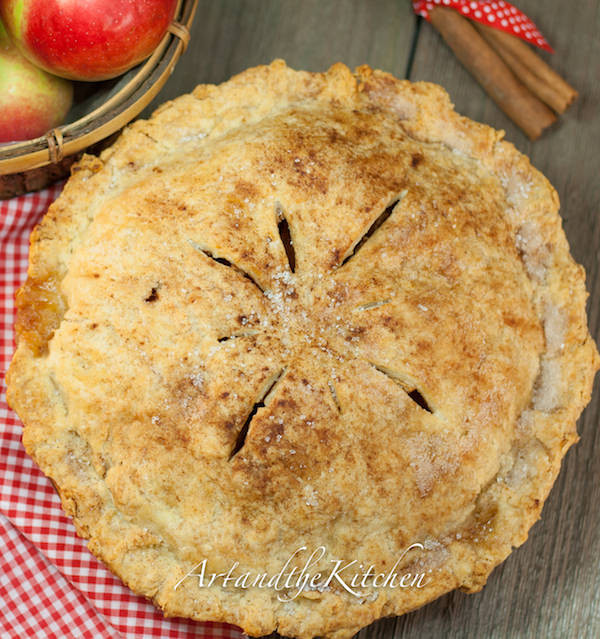 Old Fashioned Apple Pie  Grandma s Old Fashioned Apple Pie