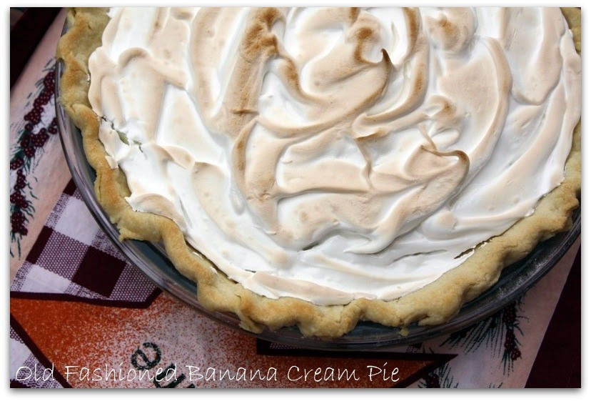 Old Fashioned Banana Cream Pie  Mommy s Kitchen Recipes From my Texas Kitchen Old
