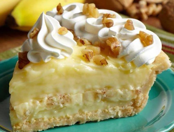 Old Fashioned Banana Cream Pie  The Old Fashioned Banana Cream Pie – 01 Easy Life