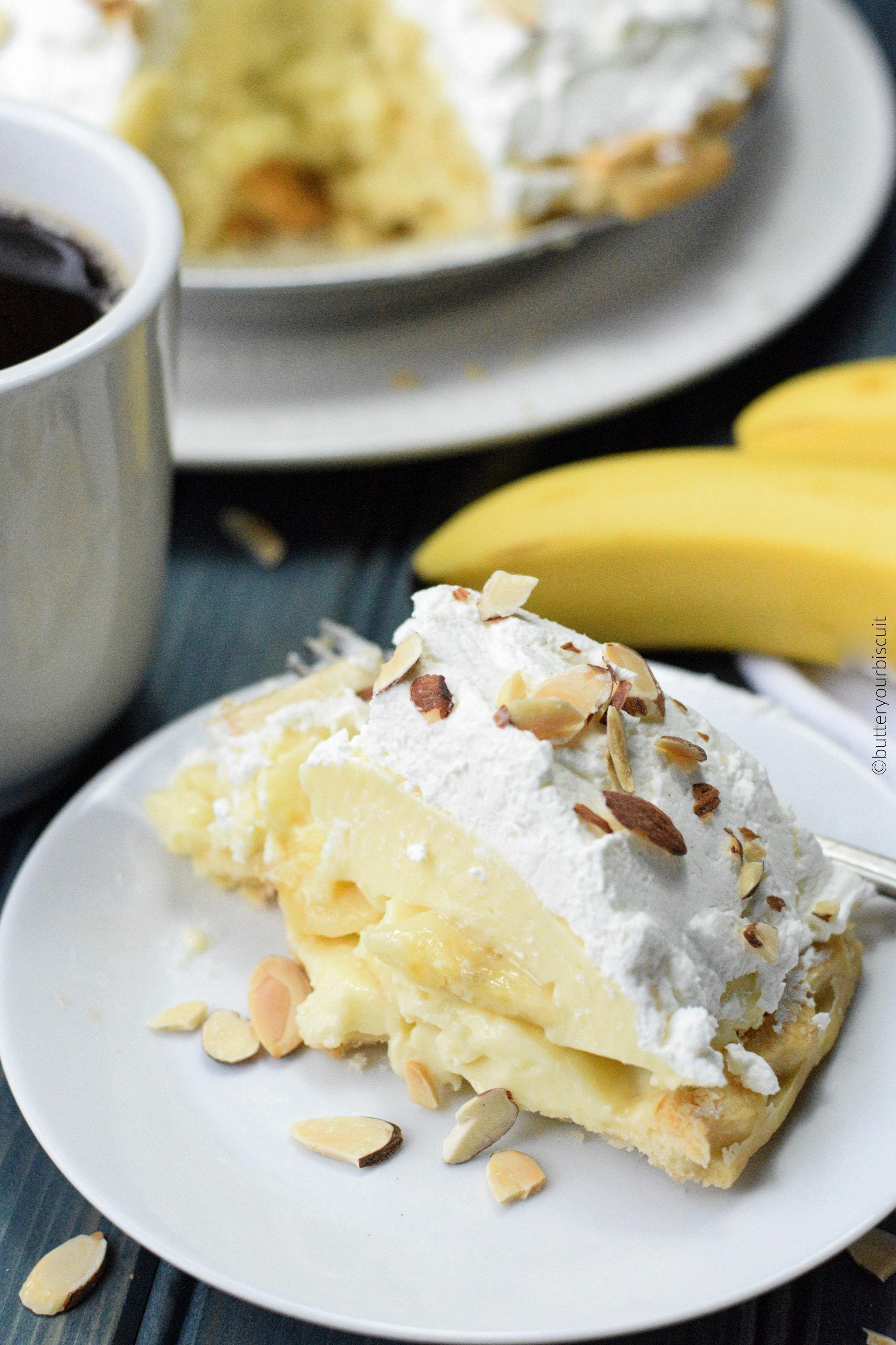 Old Fashioned Banana Cream Pie  Old Fashioned Banana Cream Pie Butter Your Biscuit