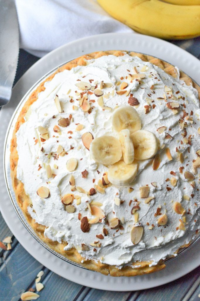 Old Fashioned Banana Cream Pie  Banana Cream Pie Easy Recipe Butter Your Biscuit
