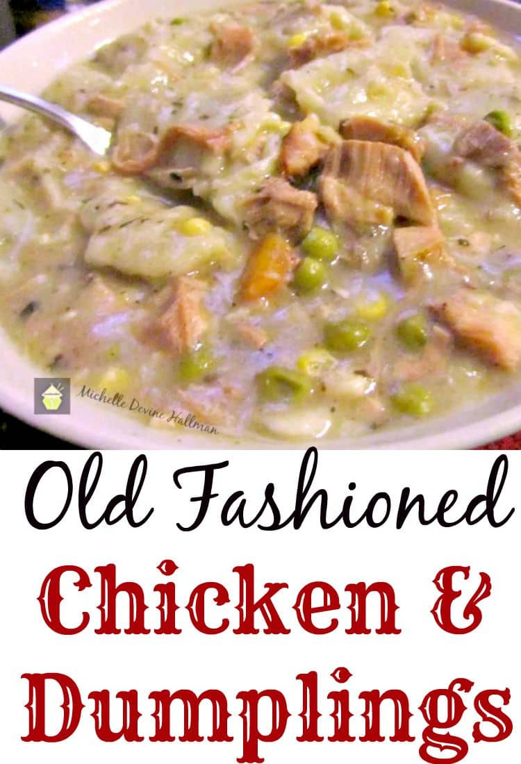 Old Fashioned Chicken And Dumplings Recipe  Old Fashioned Chicken and Dumplings – Lovefoo s