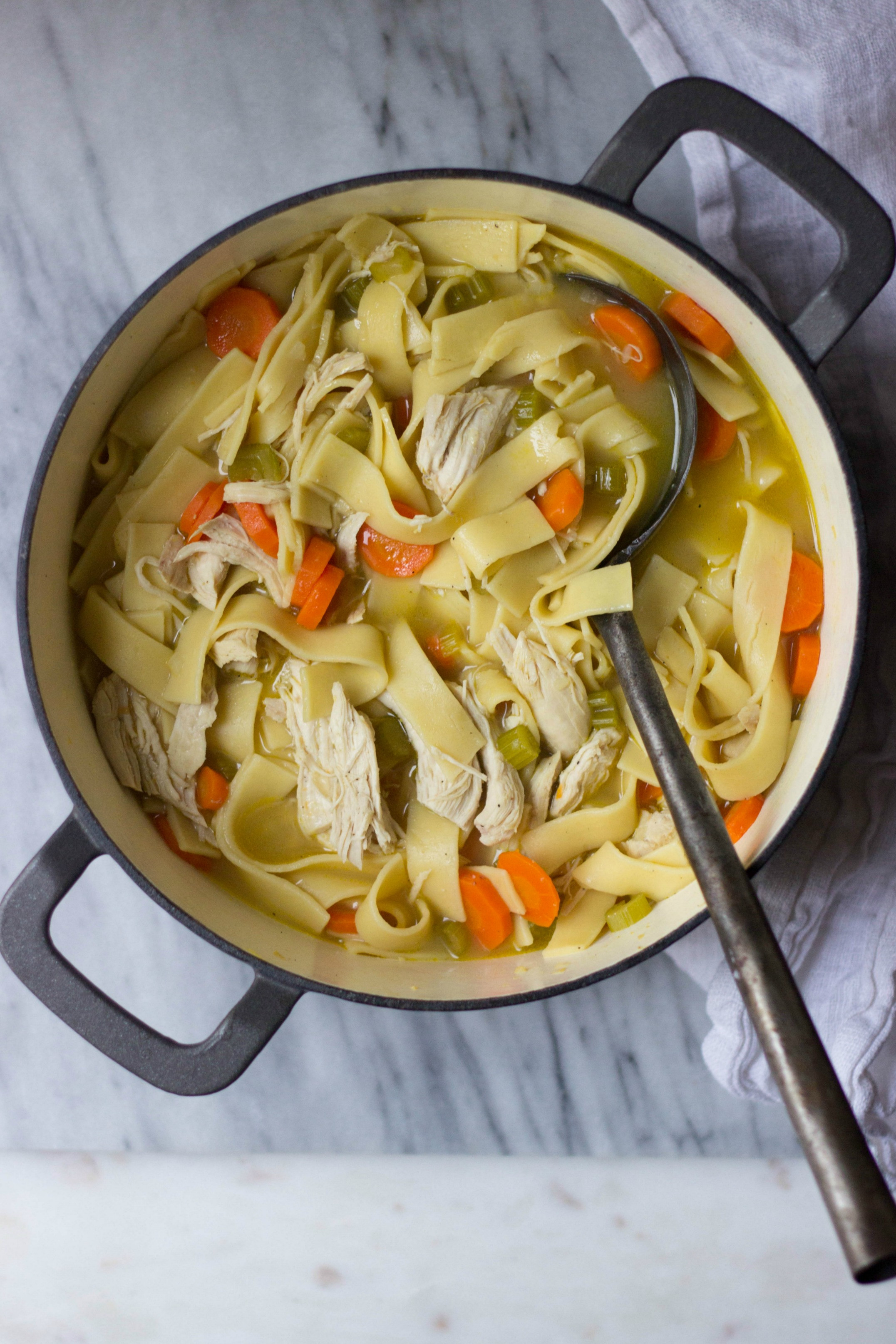 Old Fashioned Chicken Noodle Soup  Old Fashioned Chicken Noodle Soup The Gourmet RD
