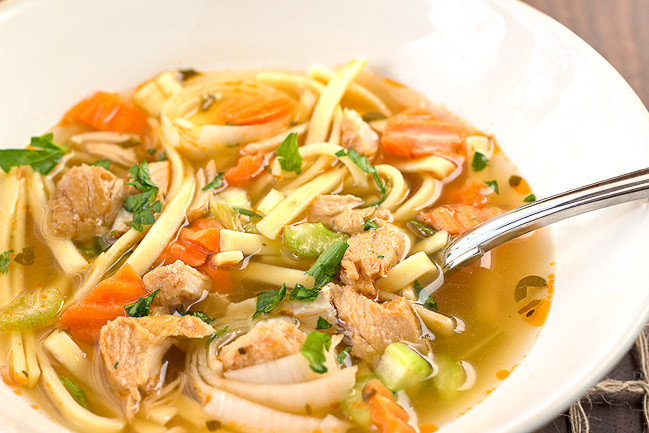 Old Fashioned Chicken Noodle Soup  Old Fashioned Chicken Noodle Soup