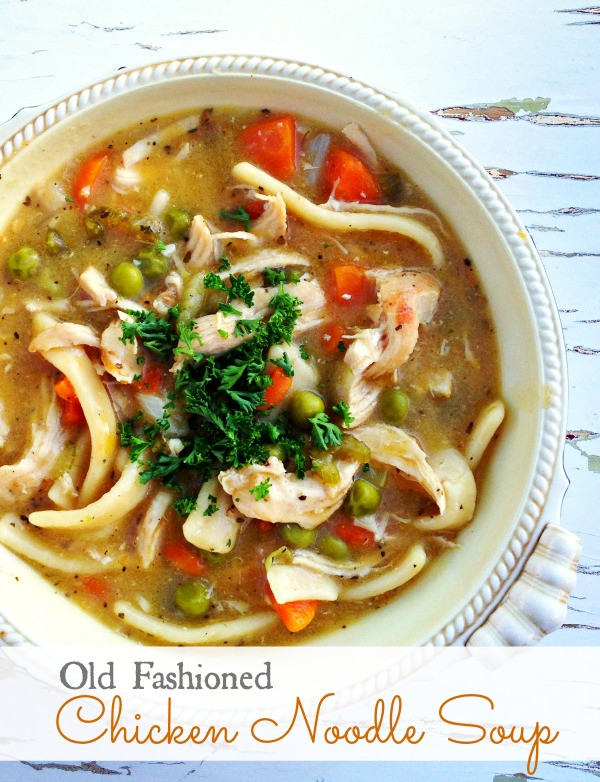 Old Fashioned Chicken Noodle Soup  chicken noodle recipe NEW 435 CHICKEN NOODLE SOUP RECIPE