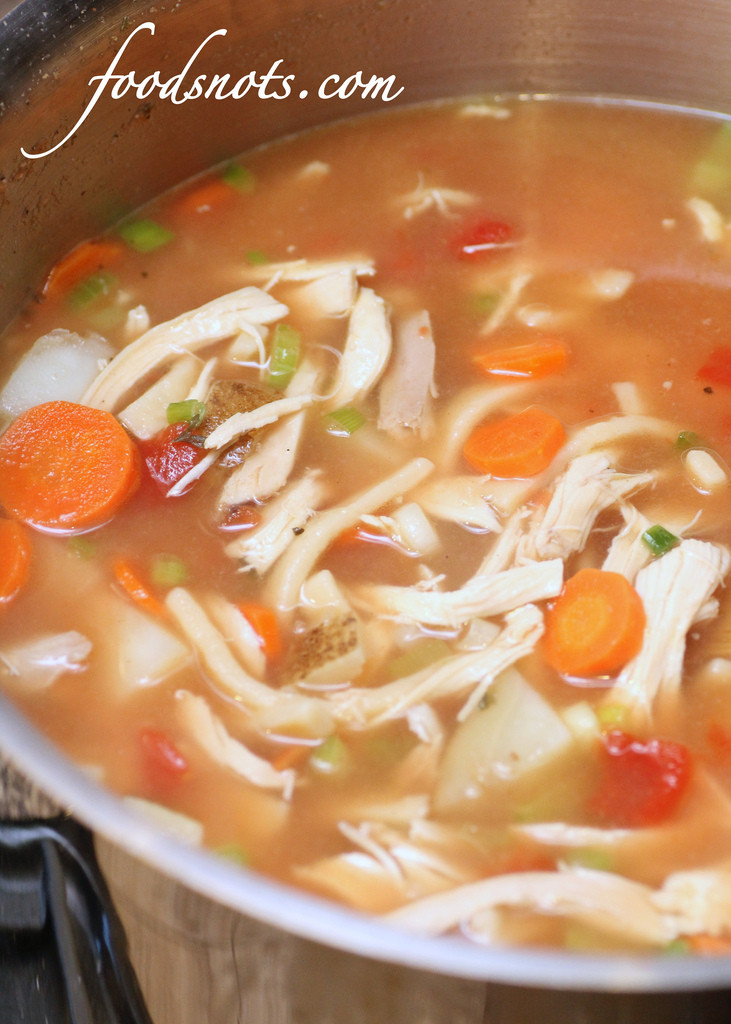 Old Fashioned Chicken Noodle Soup  Old Fashioned Chicken Noodle Soup Recipe Snobs