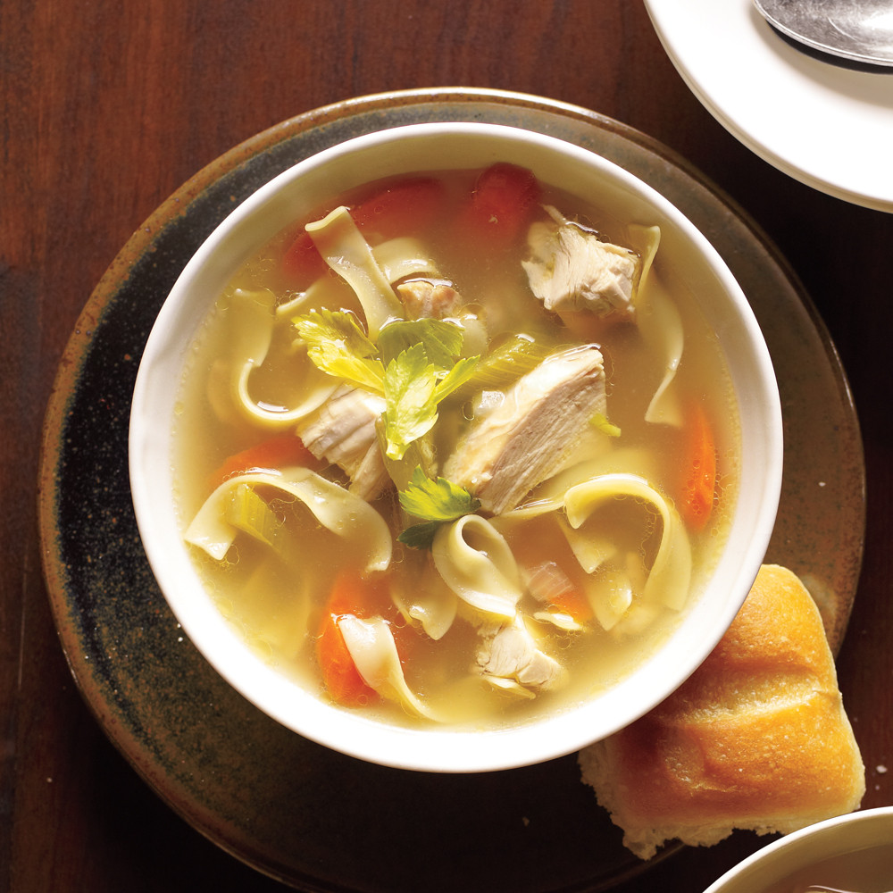 Old Fashioned Chicken Noodle Soup  Old Fashioned Chicken Noodle Soup Recipe