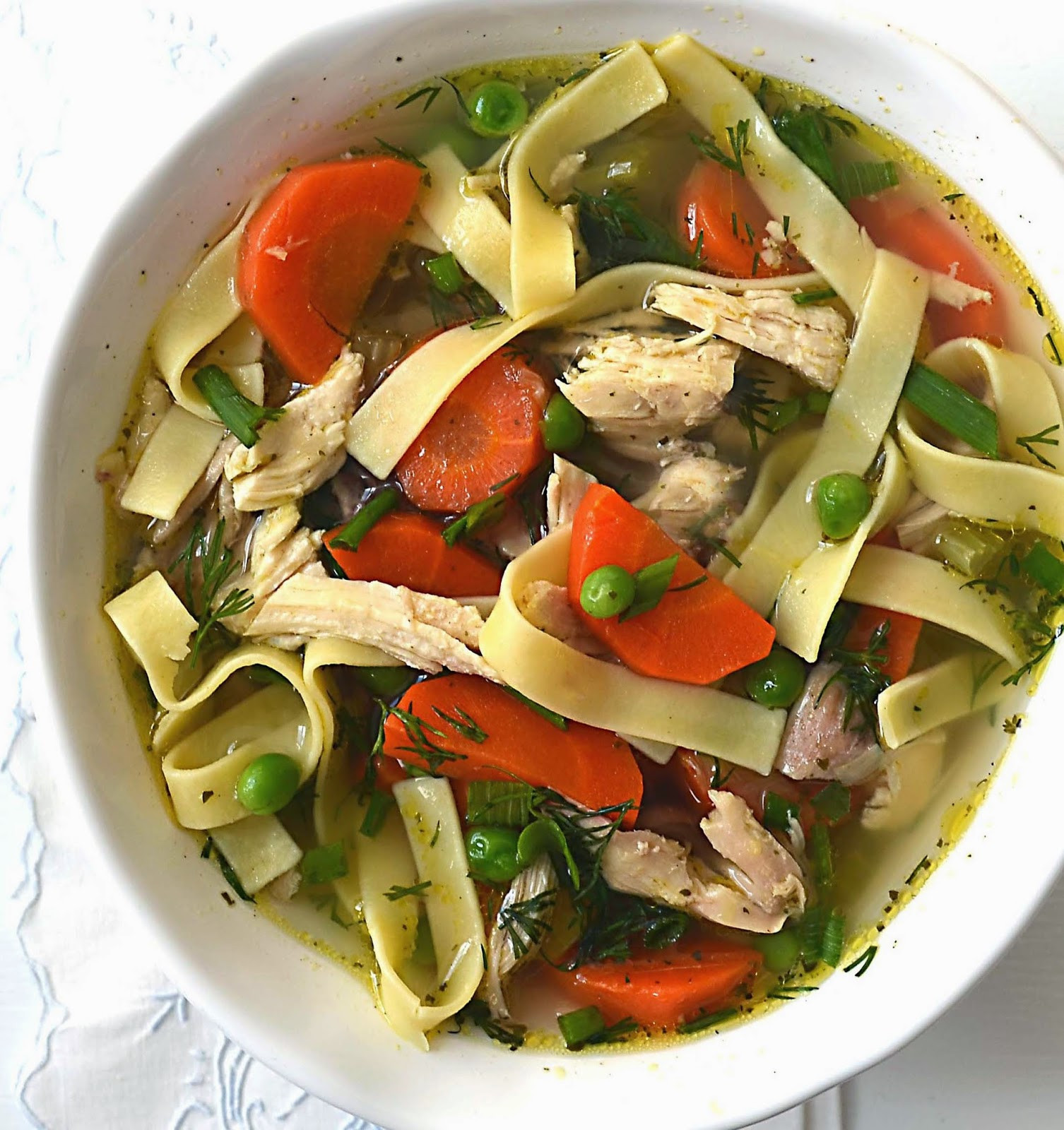 Old Fashioned Chicken Noodle Soup  Sew French Old Fashioned Chicken Noodle Soup