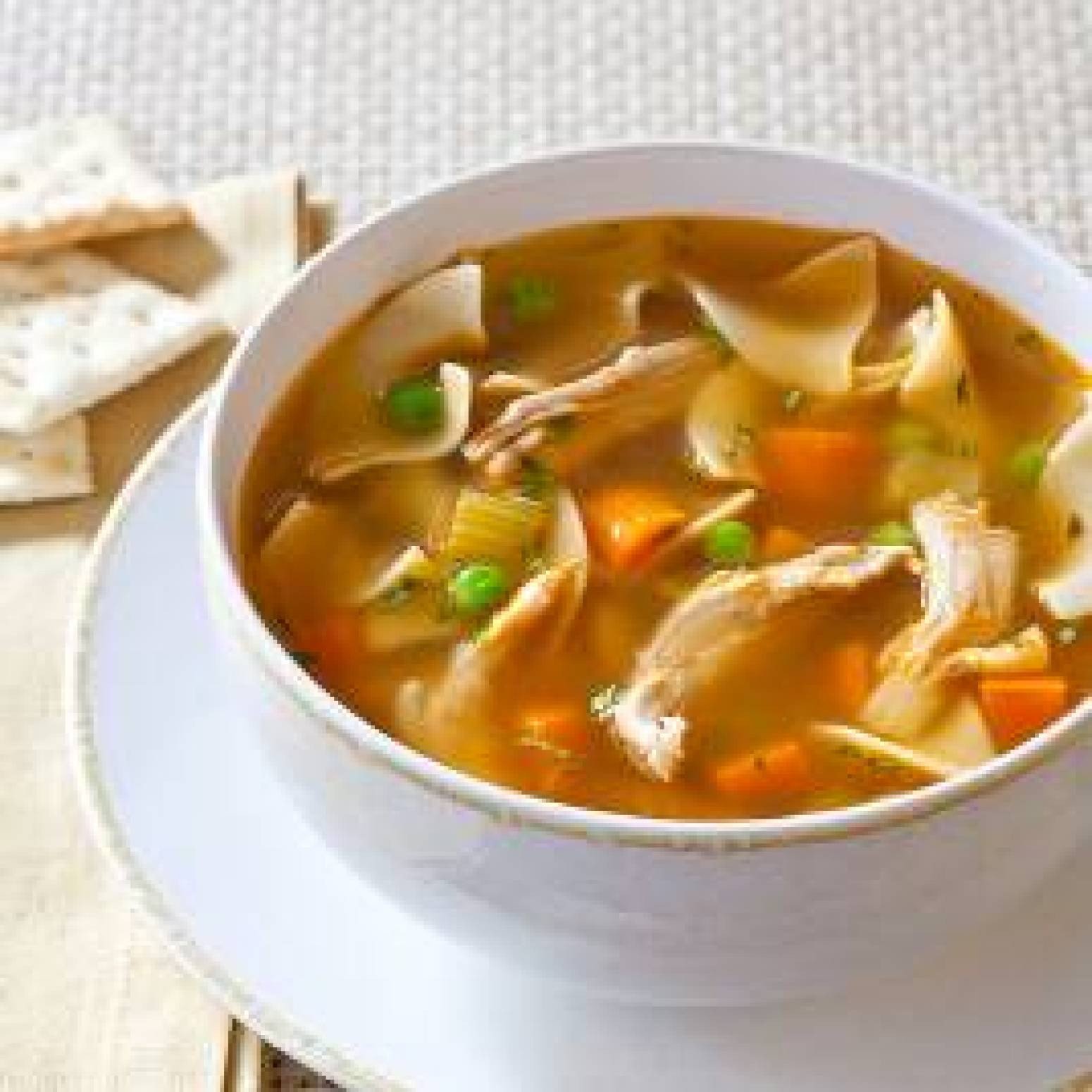 Old Fashioned Chicken Noodle Soup  OldFashioned Chicken Noodle Soup Recipe 4
