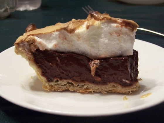 Old Fashioned Chocolate Pie  Old Fashioned Homemade Chocolate Pie Recipe My Kitchen
