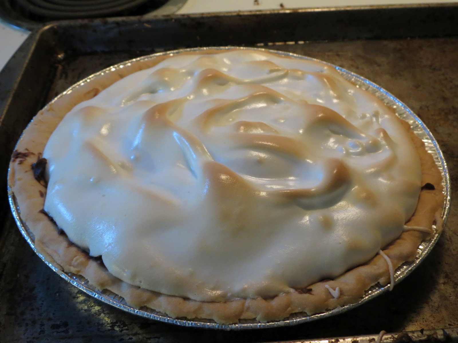 Old Fashioned Chocolate Pie  Homesteading Quest Old Fashioned Chocolate Pie
