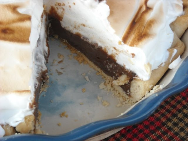 Old Fashioned Chocolate Pie  Mommy s Kitchen Recipes From my Texas Kitchen Old