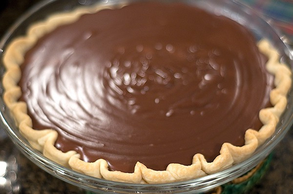 Old Fashioned Chocolate Pie  Chocolate Meringue Pie Never Enough Thyme