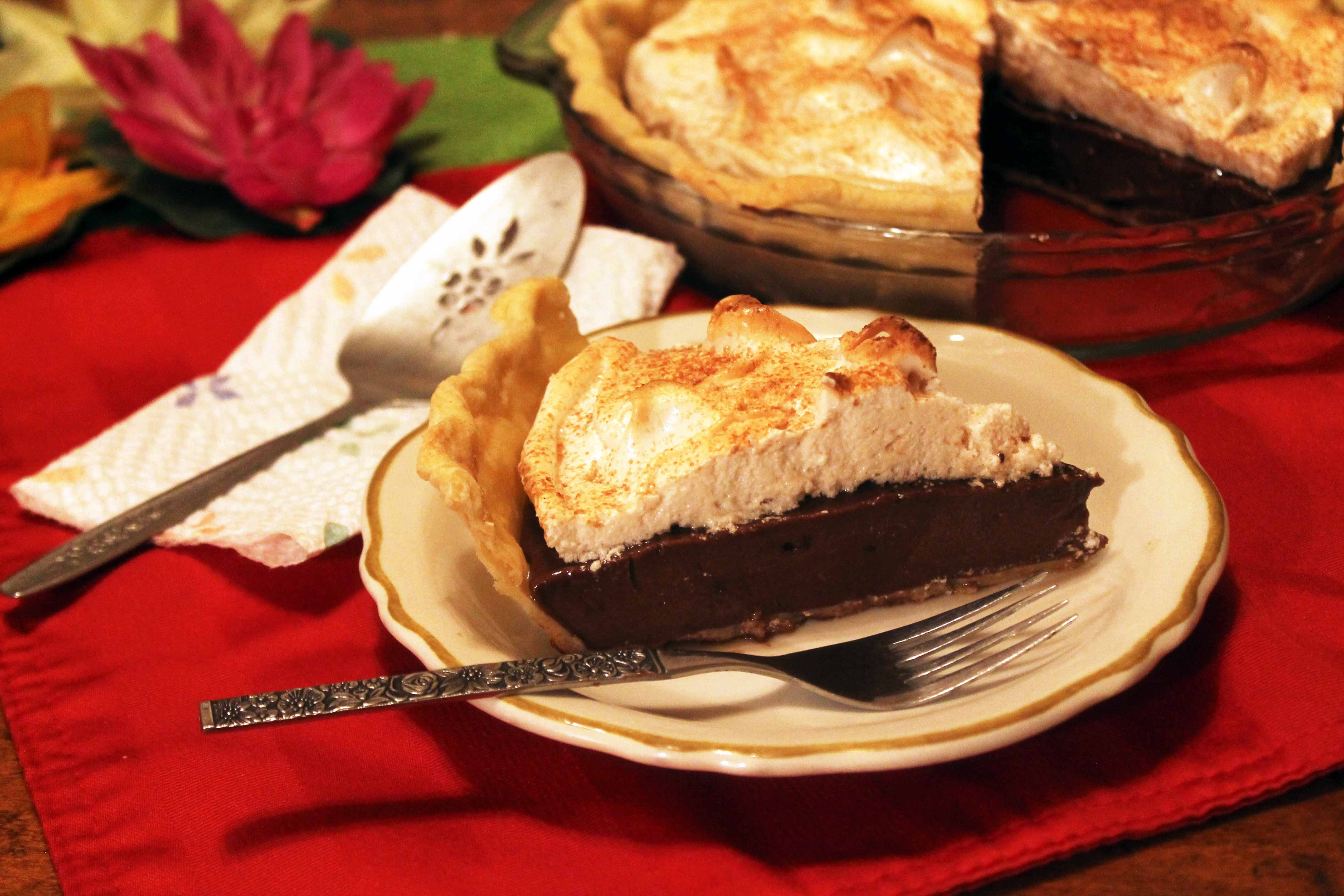 Old Fashioned Chocolate Pie  Old Fashioned Chocolate Pie