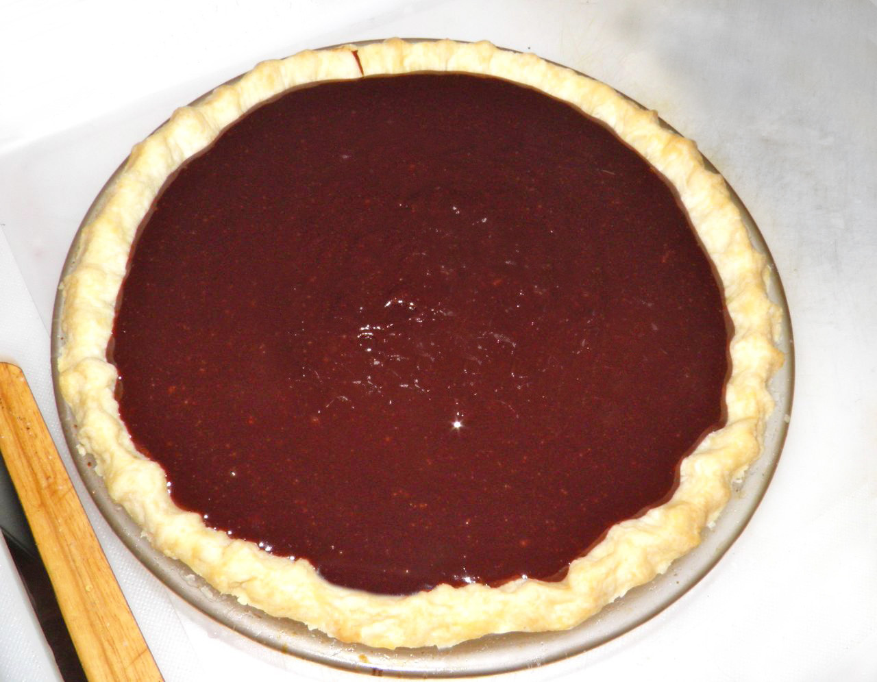 Old Fashioned Chocolate Pie  Devoid Culture And Indifferent To The Arts Nostalgia