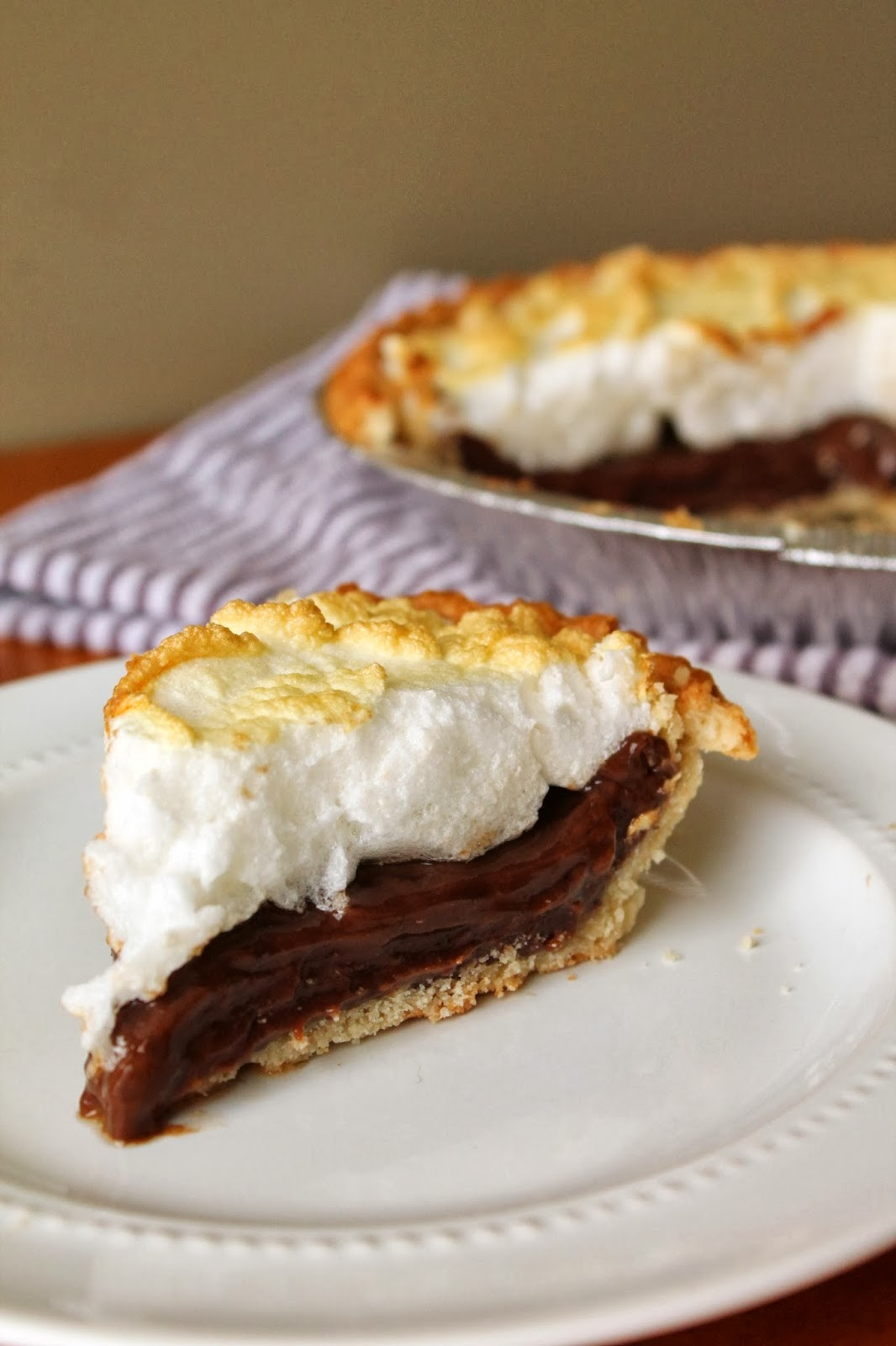 Old Fashioned Chocolate Pie  Old Fashion Chocolate Pie