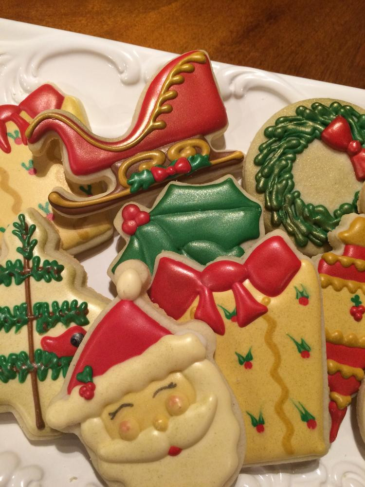 Old Fashioned Christmas Cookies  An old fashioned Christmas