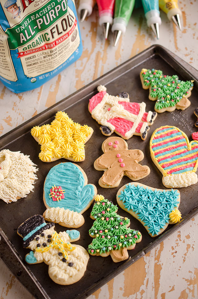 Old Fashioned Christmas Cookies  Old Fashion Sour Cream Cut Out Cookies