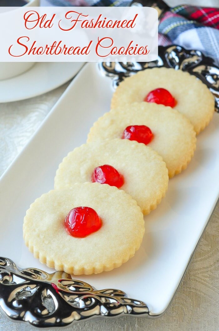 Old Fashioned Christmas Cookies  Old fashioned Shortbread Cookies simple buttery perfection
