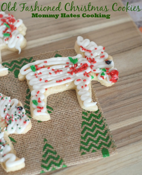 Old Fashioned Christmas Cookies  Holiday Treats Old Fashioned Christmas Cookies & Free