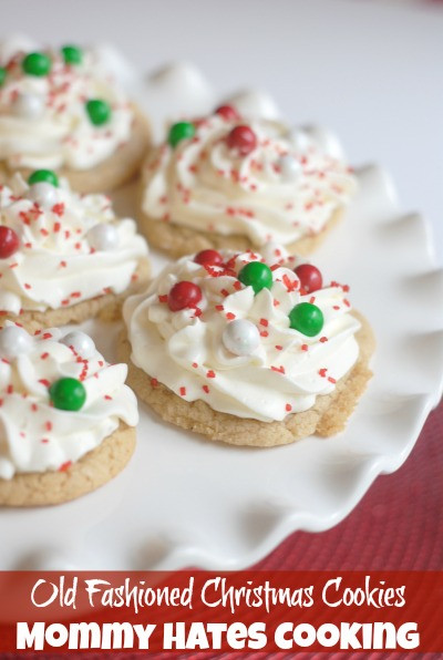 Old Fashioned Christmas Cookies  Christmas Cookies Series Old Fashioned Christmas Cookies