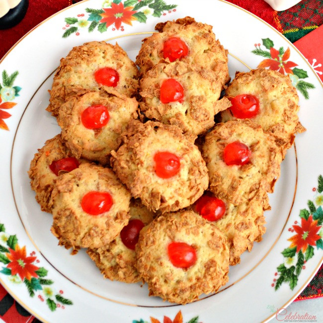 Old Fashioned Christmas Cookies  Cherry Winks – An Old Fashioned Cookie Little Miss