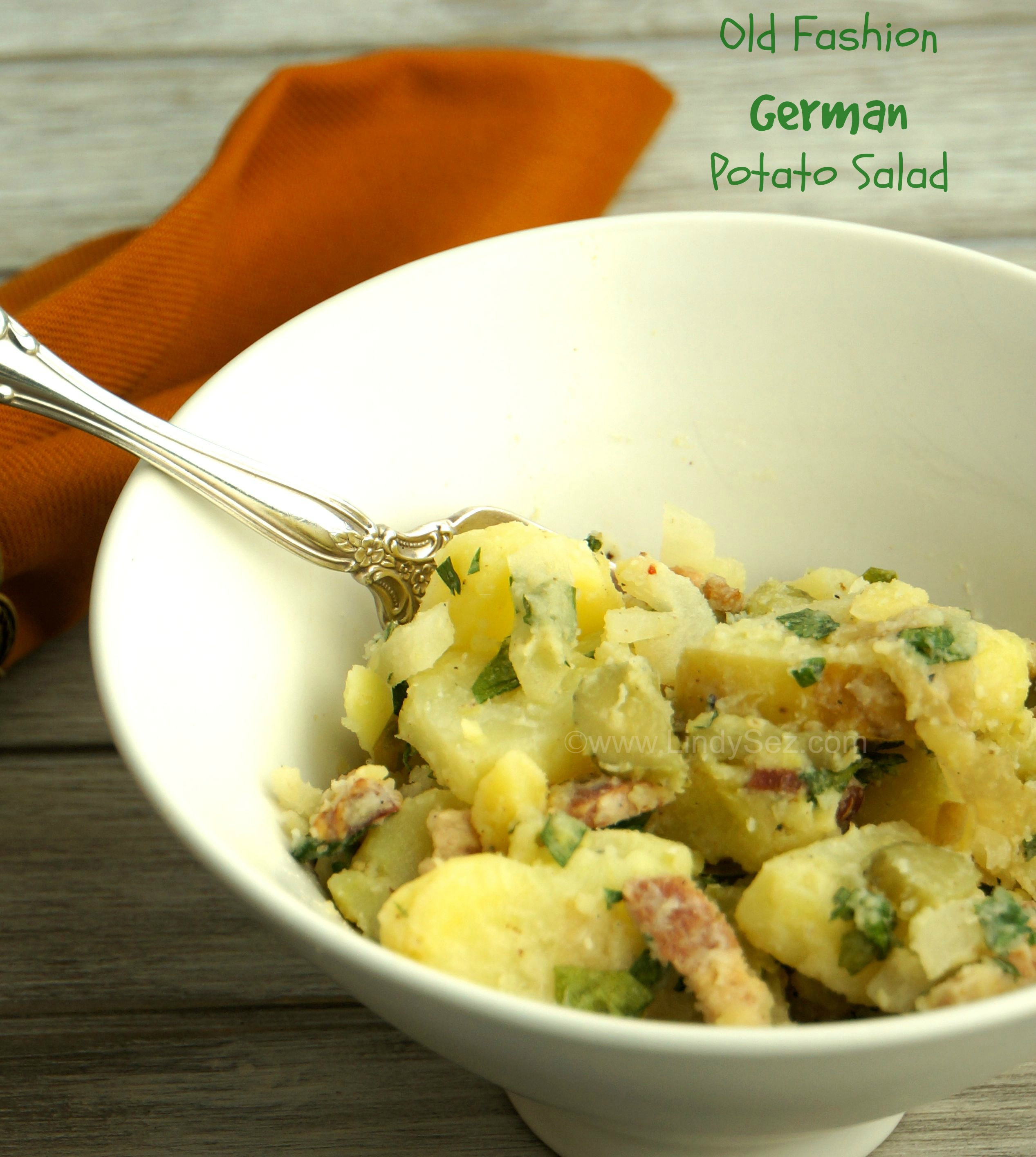 Old Fashioned German Potato Salad  Old Fashion German Potato Salad