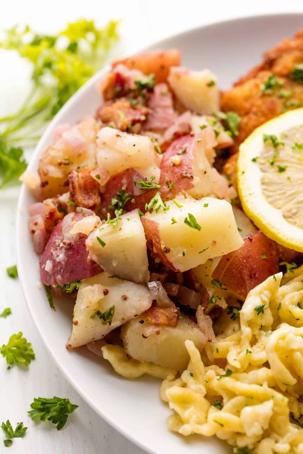 Old Fashioned German Potato Salad  Old Fashioned German Potato Salad