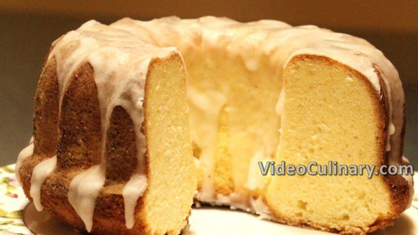 Old Fashioned Lemon Pound Cake  Old Fashioned Lemon Glazed Pound Cake Recipe VideoCulinary