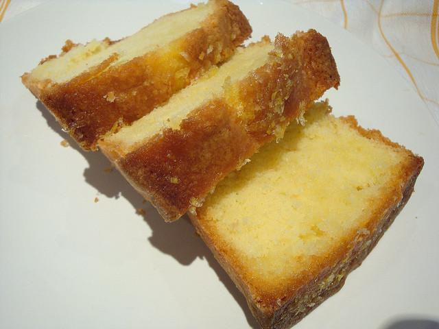 Old Fashioned Lemon Pound Cake  old fashioned pound cake with lemon glaze