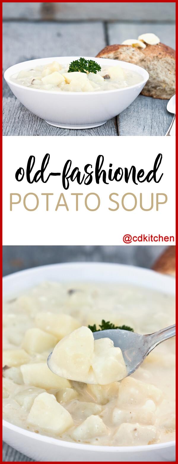 Old Fashioned Potato Soup  Old Fashioned Potato Soup Recipe