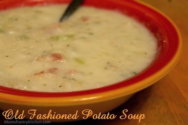 Old Fashioned Potato Soup  Moms Pantry Recipe Old Fashioned Potato Soup