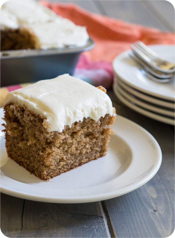 Old Fashioned Spice Cake Recipe  Old Fashioned Spice Cake with Cream Cheese Frosting Bake