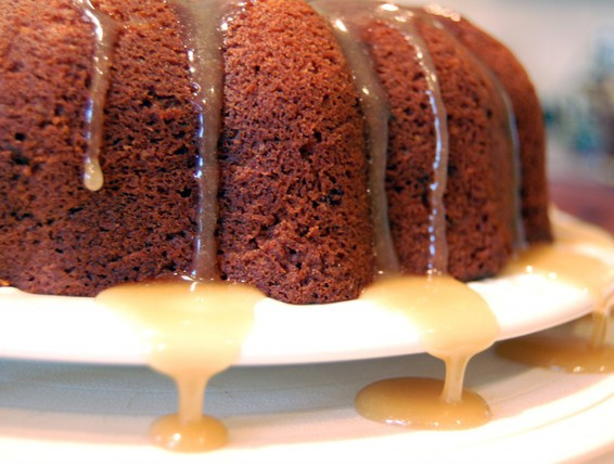 Old Fashioned Spice Cake Recipe  Recipe Old Fashioned Spice Cake with Caramel Glaze