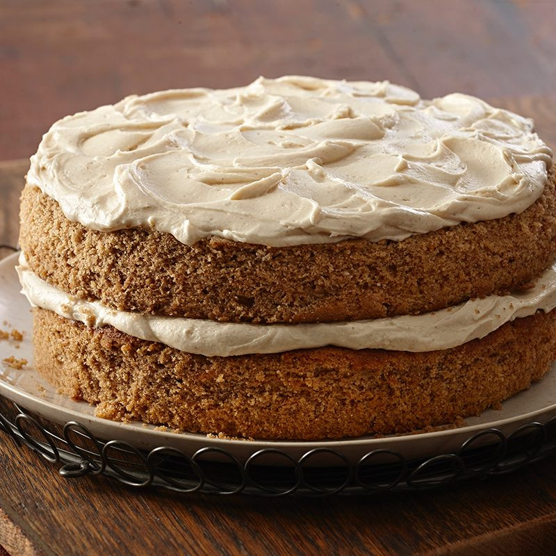 Old Fashioned Spice Cake Recipe  Spice Cake with Maple Frosting