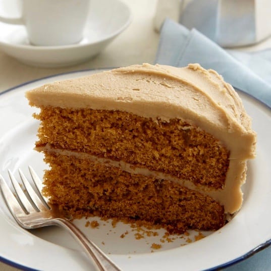 Old Fashioned Spice Cake Recipe  Spice Cake With Creamy Caramel Icing • tarateaspoon