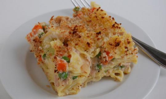 Old Fashioned Tuna Casserole  Recipe for tuna noodle casserole The Boston Globe