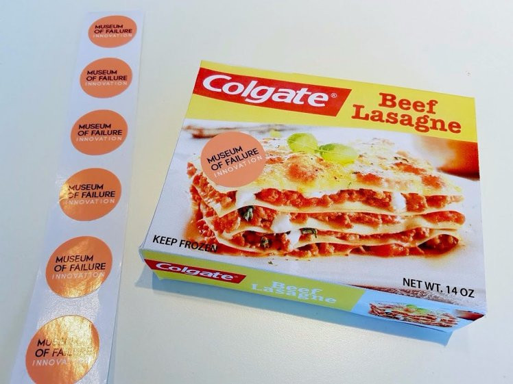 Old Frozen Dinner Brand  The Swedish Museum of Failure celebrates worst ideas in
