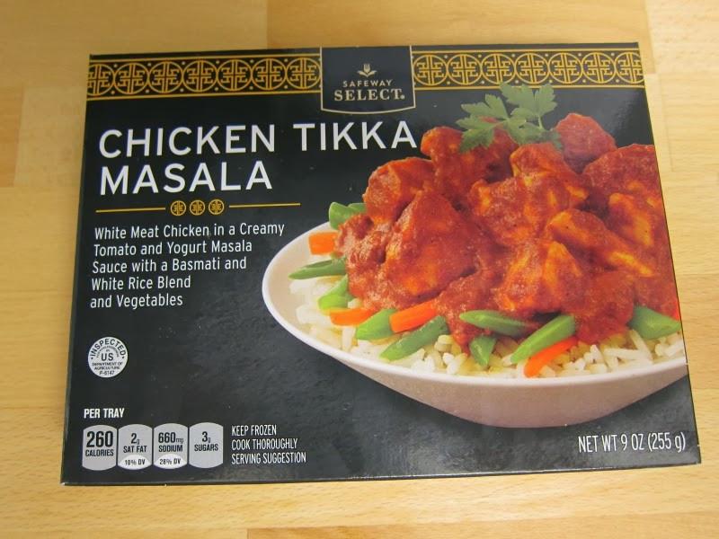 Old Frozen Dinner Brand  Frozen Friday Safeway Select Chicken Tikka Masala