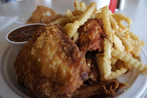 Olde Dixie Fried Chicken  fried chicken olde dixie orlando by tastychomps