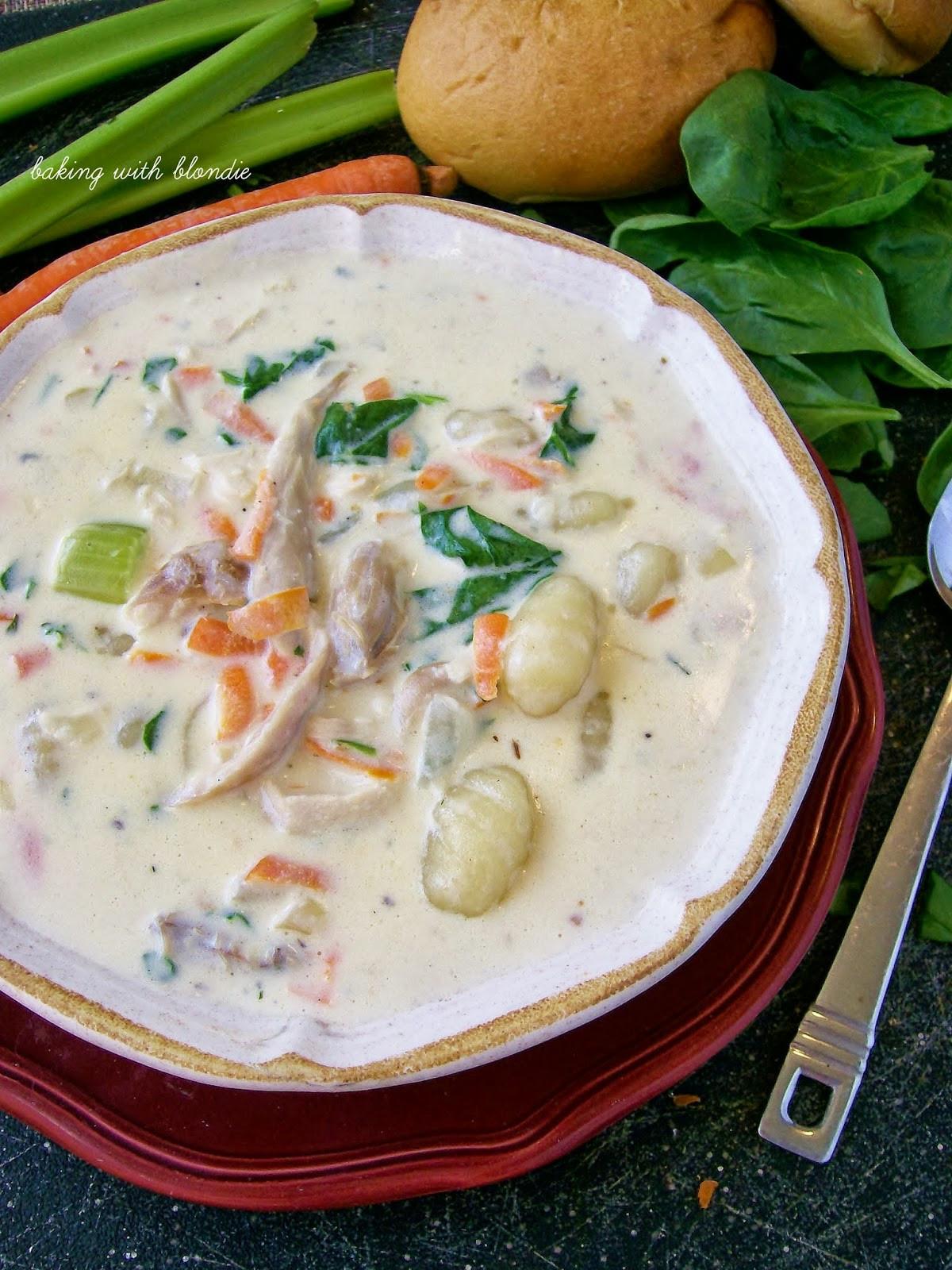 Olive Garden Chicken Gnocchi Soup  Olive Garden s Chicken Gnocchi Soup
