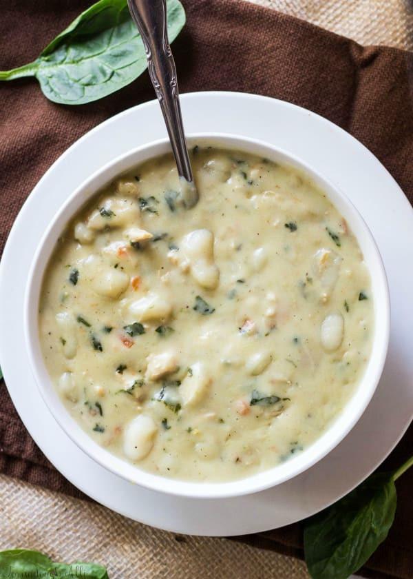 Olive Garden Chicken Gnocchi Soup  Olive Garden Chicken Gnocchi Soup Tornadough Alli