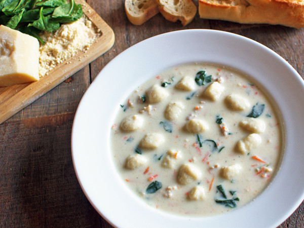 Olive Garden Chicken Gnocchi Soup  Top Secret Recipes